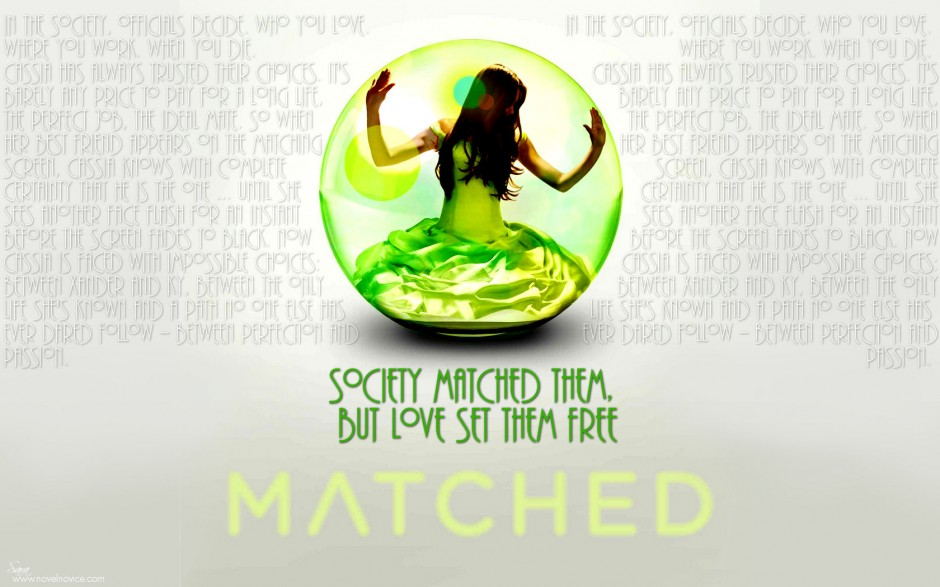 book report on matched by ally condie