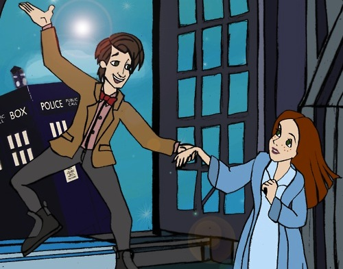 Doctor Who Peter Pan crossover