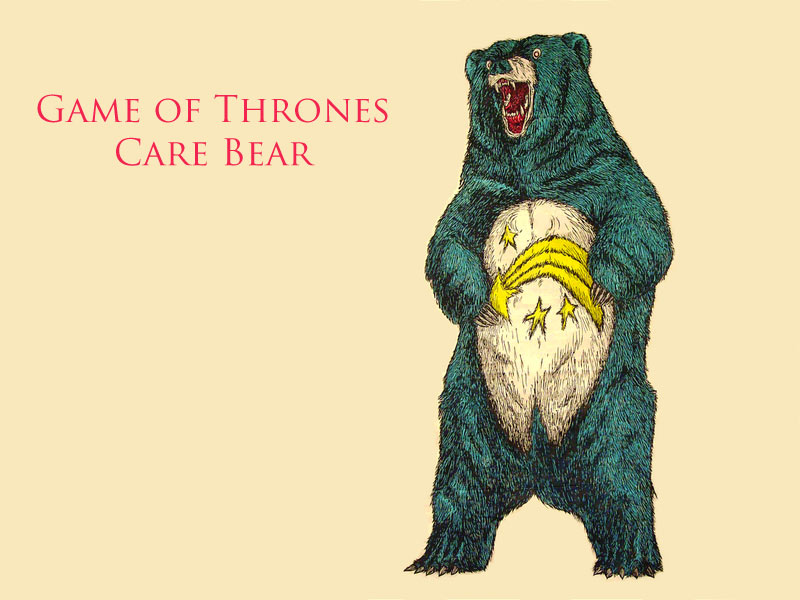 Game of Thrones Care Bear