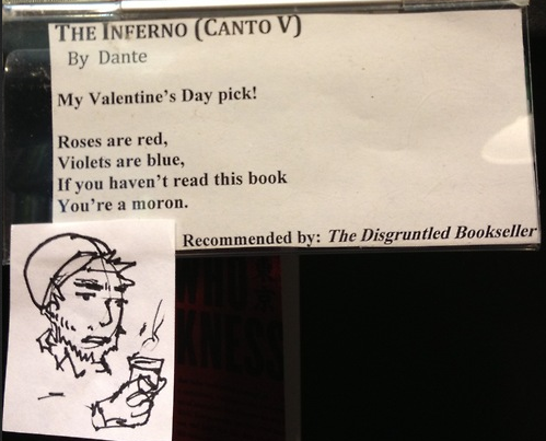Disgruntled Bookseller - Dantes Inferno