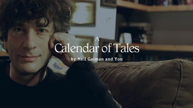 Neil Gaiman a Calendar of Tales