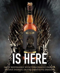 Ommegang Iron Throne Ad