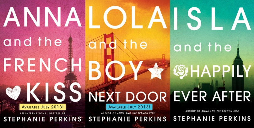 Stephanie Perkins Book Re-Design