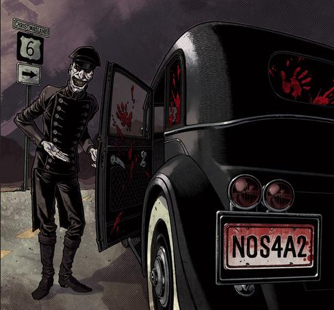 NOS4A2 Art Gabriel Rodriguez