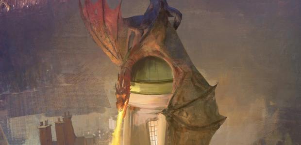 Wizarding World Gringotts Dragon