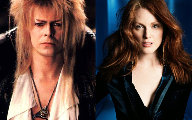 David Bowie Julianne Moore