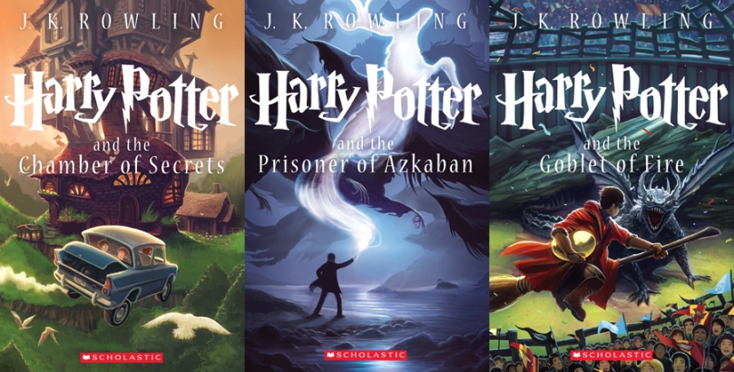 Harry Potter Redesigned Covers
