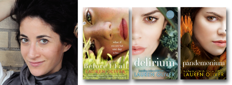 Lauren Oliver Book Banner