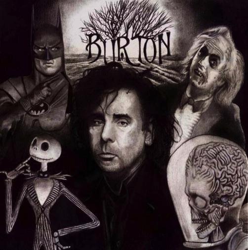 Tim Burton Montage