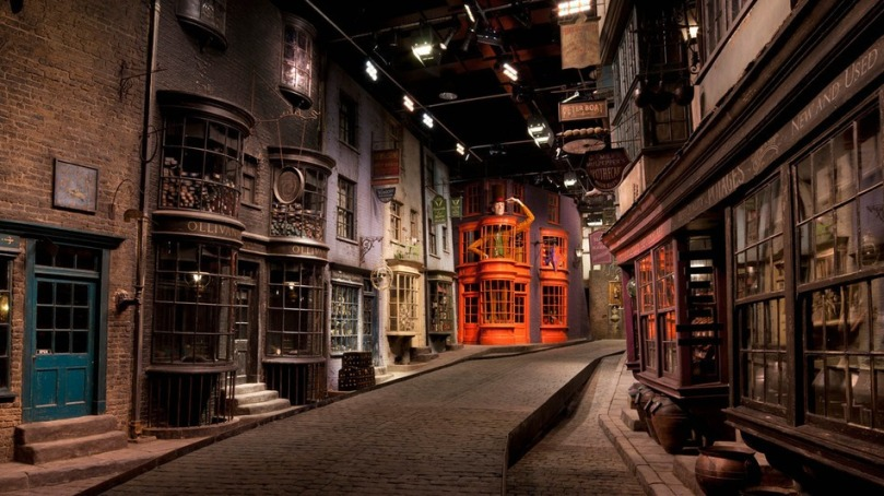 Diagon Alley Streetview