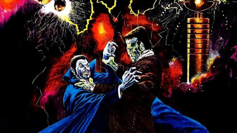 Dracula Frankenstein's Monster