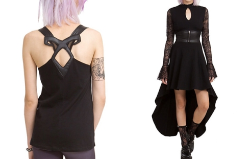 Hot Topic Mortal Instruments Clothing
