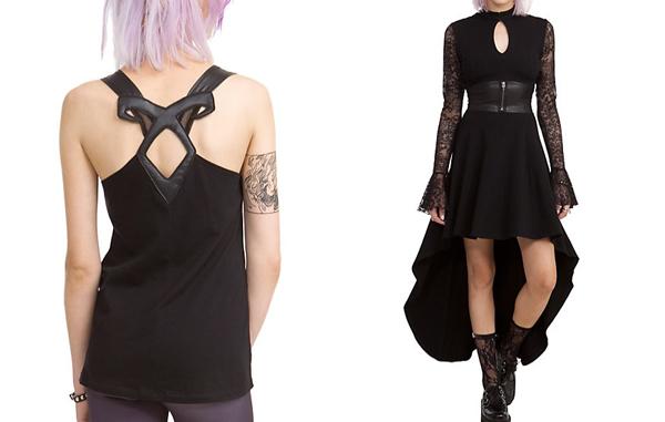 Hot Topic Mortal Instruments Clothing