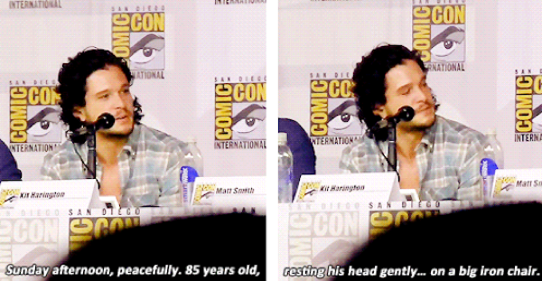 Kit Harrington SDCC 2013