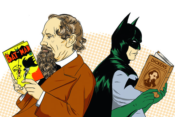 Dickens and Batman