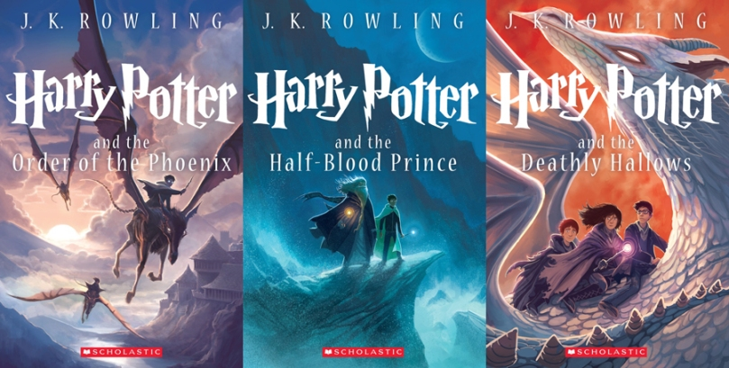 Harry Potter Scholastic Covers
