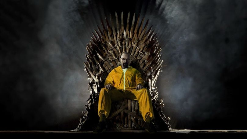Walter White Iron Throne