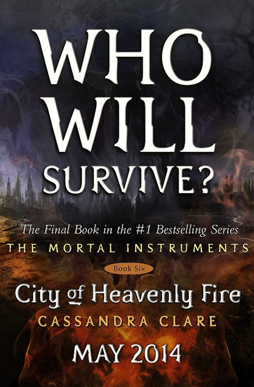 City of Heavenly Fire Placeholder Cover