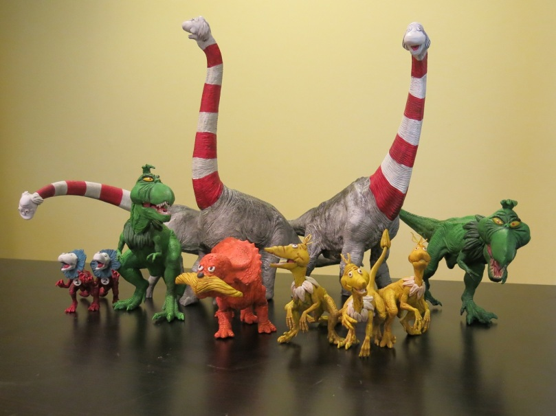 Dinosaur Dr. Suess Characters
