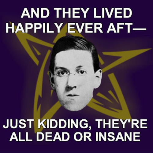 HP Lovecraft Meme