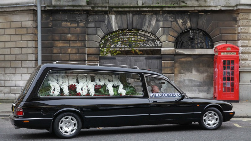 Sherlock Lives Hearse
