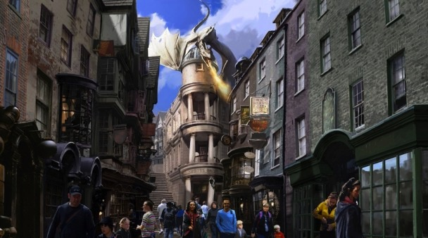 Diagon Alley Wizarding World