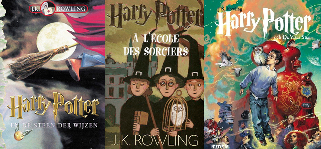 Harry Potter Book Covers Different Countries : Around the interwebs volume xlii bibliomantics