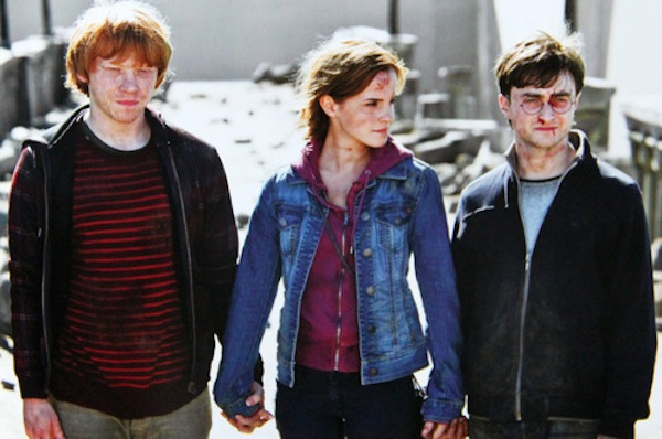 Ron Hermione Harry