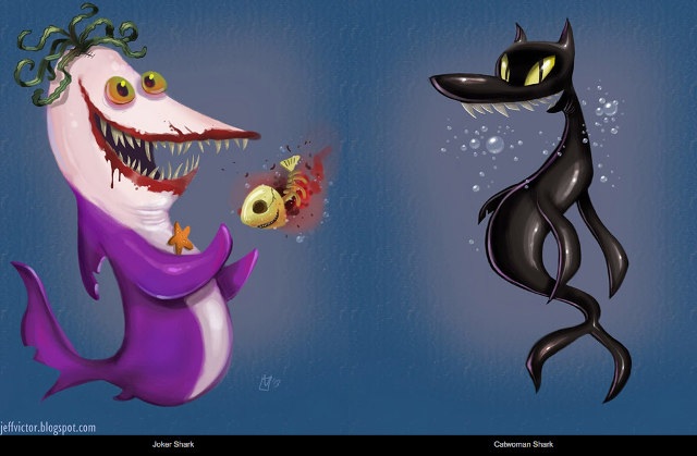 Batman Shark Villains