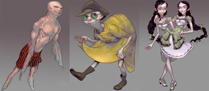 Geek Love Characters
