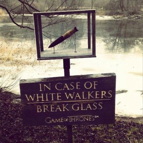In Case of White Walkers