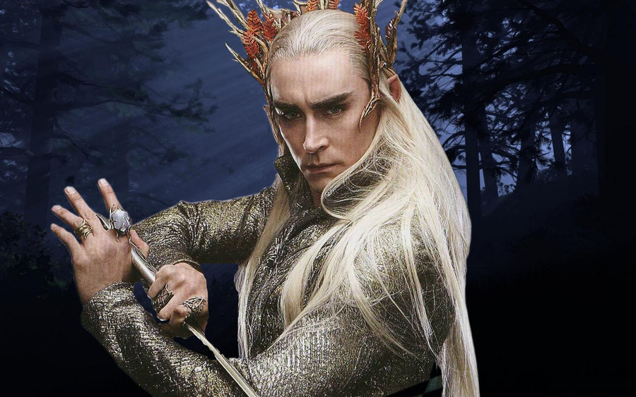 In The Hobbit, whose fault is the ancient feud between the dwarves and elves?