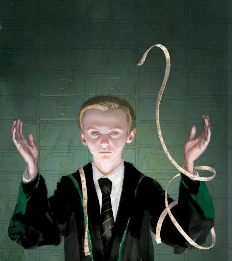 Draco Malfoy Illustrated