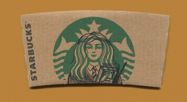 Harry Potter Starbucks Sleeve