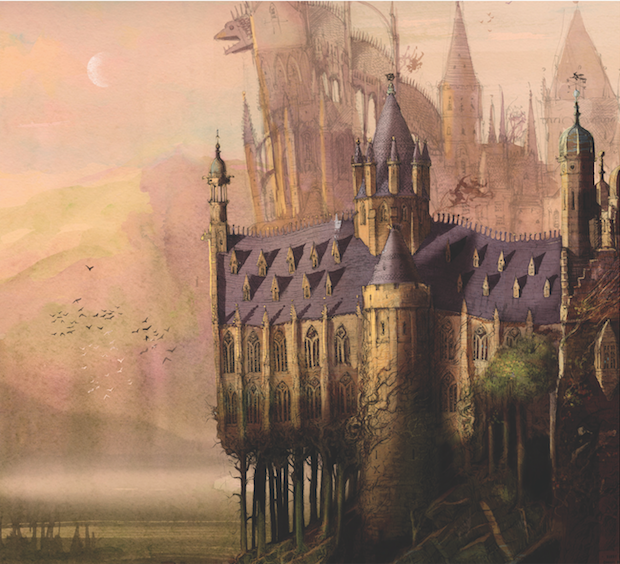 Hogwarts Illustrated