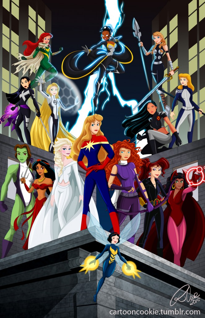 Disney Princess Marvel