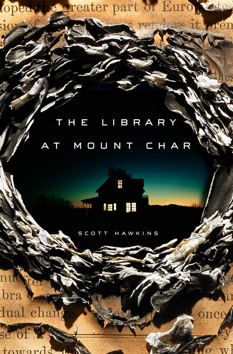 Library at Mount Char Book Cover