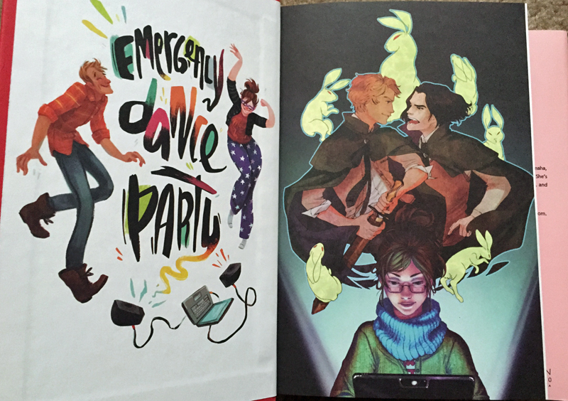Fangirl End Pages