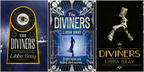 Diviners Book Covers US UK AU