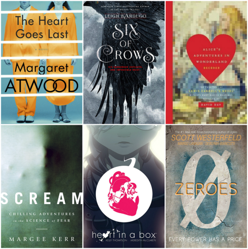 New Book Releases September 29 2015