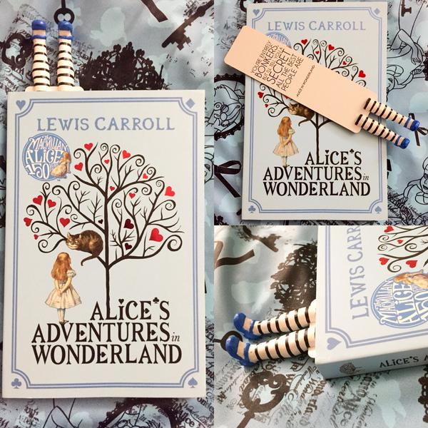 Alice in Wonderland Bookmark MyBookmark