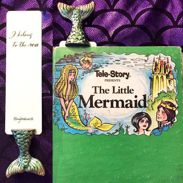 Mermaid Bookmark MyBookmark