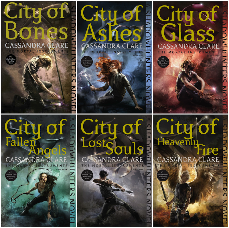 Резултат с изображение за the mortal instruments books