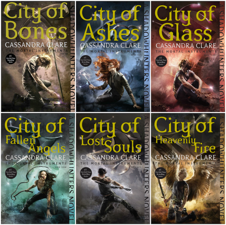 Image result for the mortal instruments book covers