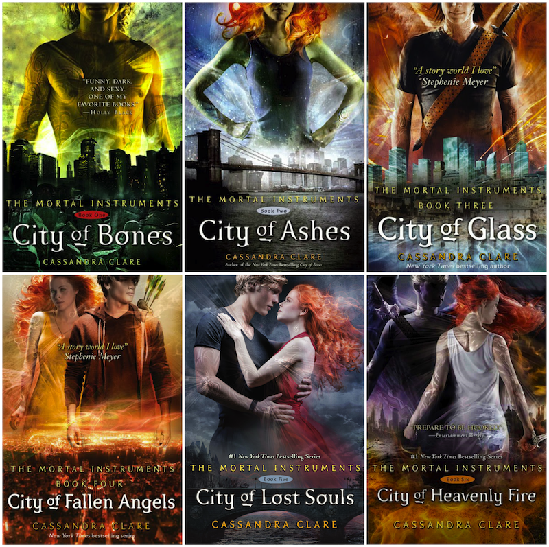 The Mortal Instruments Cover