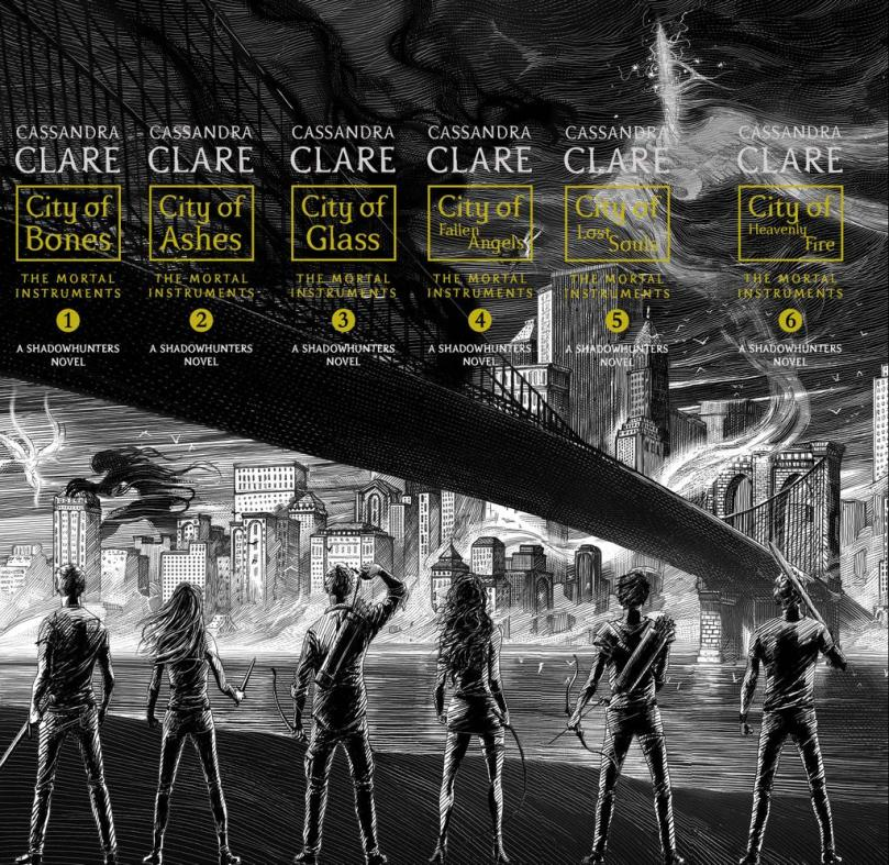 The Mortal Instruments Redesign Spine