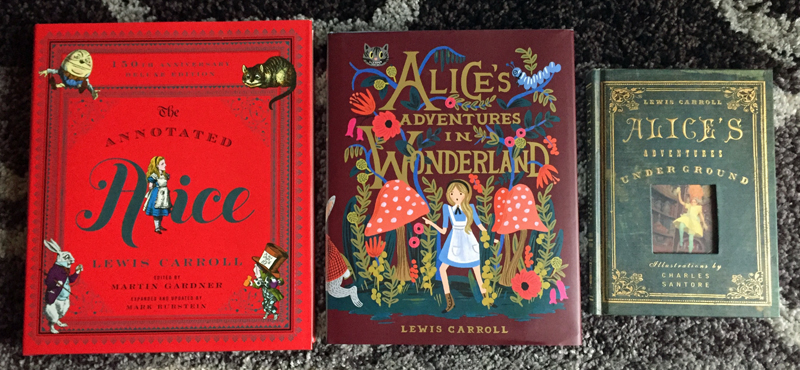 Alice Wonderland November 2015 Book Haul