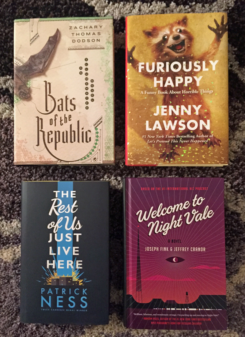 October 2015 Book Haul New Releases