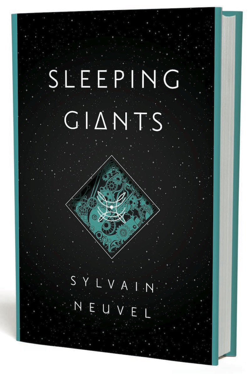 Sleeping Giants Book Cover Sylvain Neuvel