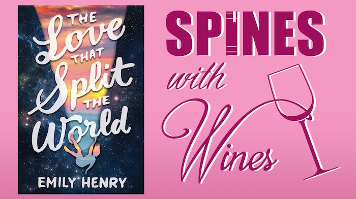 The Love that Split the World Spines with Wines